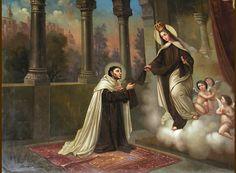 La aparición de Nuestra Señora del Monte Carmelo