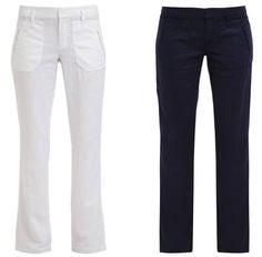 Edc by Esprit Play Pantalón De Tela White pantalones white Play pantalon Esprit Edc De Tela By Noe.Moda