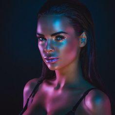 Makeup ~ Aurora Borealis #Luxurydotcom