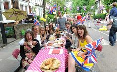 Queen's Diamond Jubilee: 10,000 street parties to celebrate  Britain is preparing to mark the Queen's Diamond Jubilee with 10,000 street parties taking place all over the country
