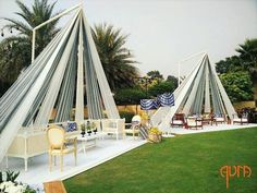 21 Canopy Seating Decor Ideas for Whimsical Wedding Vibes : Apt for brunches, these classy tent-inspired-lounges with elegant elements are surely going to up your decor game.