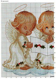 Ponto cruz: Natal