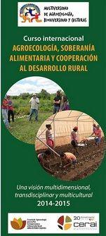 INSCRIPCIÓN CURSO AGROECOLOGÍA, SOBERANÍA ALIMENTARIA, DESARROLLO RURAL ecoagricultor.com