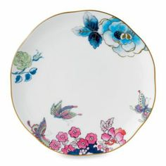 Wedgwood® Butterfly Bloom 8-Inch Salad Plate - BedBathandBeyond.com