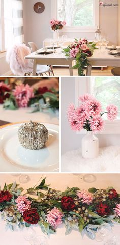 Fall tablescape crea