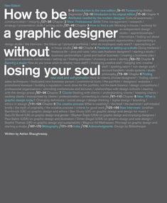 How to Be a Graphic Designer without Losing Your Soul, new edition