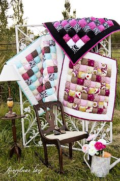 I want to try a puff quilt someday when we have kids