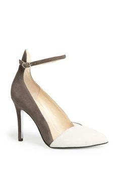 Obsessed with these two tone stilettos by Kristin Cavallari.
