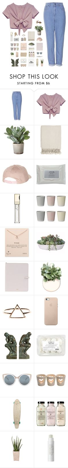 """find a brand new ending"" by iced-lemons ❤ liked on Polyvore featuring Topshop, Torre & Tagus, Surya, Billabong, Stila, Clarins, Bloomingville, Dogeared, VesseL and Jil Sander"
