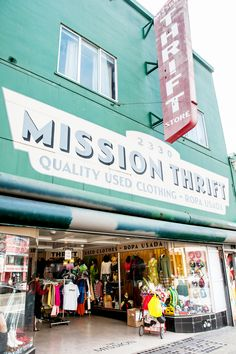 Check out this guide to the best thrift shops in San Francisco. rounds up the best Bay Area thrift boutiques. San Francisco California, California Dreamin', Northern California, San Francisco Travel Guide, San Francisco Shopping, Bars In San Francisco, Living In San Francisco, San Fransisco, Just Dream