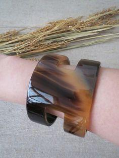 Candice Brown Buffalo Horn Cuff Bracelet