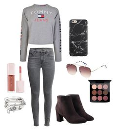Tommy outfit by michalanickels03 on Polyvore featuring polyvore fashion style Tommy Hilfiger Avon Alex and Ani MAC Cosmetics Puma clothing