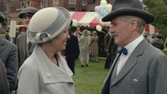 Isobel Crawley and Dr. Clarkson - the finale of Season 3