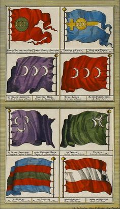 Osmanlı donanma sancakları Ottoman Flag, Ottoman Empire, Flag Design, Banner Design, Warrior Paint, Family Shield, Ottoman Turks, Turkish Army, History Timeline