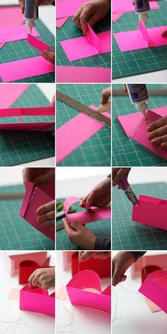 3D Birthday Banner DIY   Oh Happy Day!