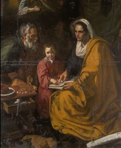 According to the tradition, Mary was raised by her parents St. Anne and St. Joachim. She was not only conceived without Original Sin but also, full of God's grace, remained sinless. What was her childhood like? We don't know much, but many artists have chosen to depict it for us
