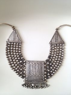 Yemen, Wasab Ali. Necklace (sambusa or sharikh)