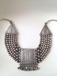 Yemen, Wasab Ali. Necklace (sambusa or sharikh)