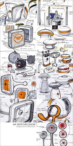제품 디자인 스케치 makeup ideas night out - Makeup Ideas Cool Sketches, Drawing Sketches, Drawings, Sketch Inspiration, Design Inspiration, Presentation Board Design, Industrial Design Sketch, Design Graphique, Sketch Design