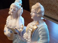 Items similar to Vintage Occupied Japan Era Figures - OOAK on Etsy Antique Items, Vintage Items, Handmade Items, Handmade Gifts, Japan, Sculpture, Statue, Antiques, Artwork