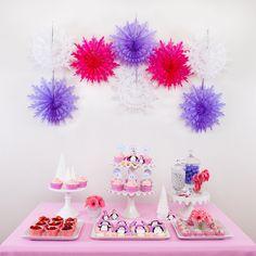 Pink and Purple party  @Nicole McEachern @ Scrap Me Baby