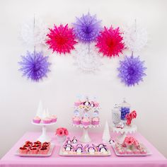 Pink and Purple party  @Nicole McEachern @ Scrap Me Baby