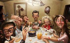 Las ilustraciones y caricaturas de Tiago Hoisel