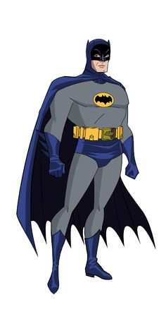 Adam West Batman BTAS Style by Alexbadass