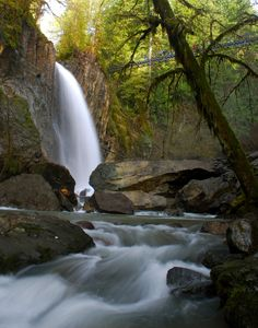 Drift Creek Falls, Lincoln City, Oregon