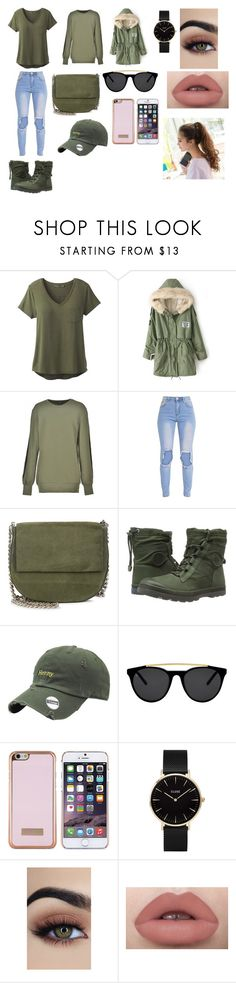 """""""Look Passeio"""" by kettykimmich ❤ liked on Polyvore featuring prAna, Ann Demeulemeester, Gvyn, Palladium, Smoke x Mirrors, Ted Baker and CLUSE"""