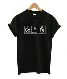 Periodic Table Barista T-Shirt - Cool Shirts - Ideas of Cool Shirts - Periodic Table Barista T-Shirt Cool Shirt Designs, Shirt Print Design, T Shirt Printing Design, Barista, Cool Shirts, Tee Shirts, Tees, T Shirt Custom, T Shirt World