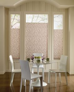 Dining Rooms Window Coverings