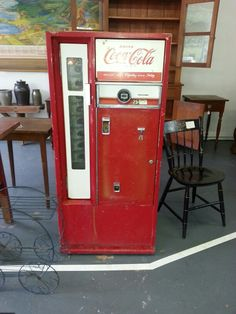 1960 Cavalier Coca Cola Machine My Daddy Had One Of These Outside His Car