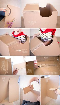 How to make a cardboard airplane 2                              …