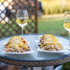 Tacos and Missouri wine pairings | MO Wines Chorizo Tacos, Veggie Tacos, Carnitas Tacos, Wine Pairings, White Meat, Chicken Tacos, Mexican Dishes, Recipe Using, Wine Recipes