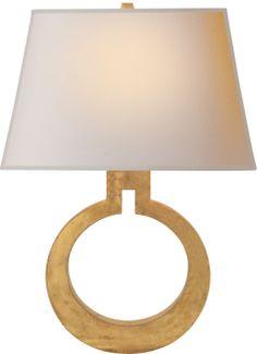 Circa Lighting 'Large Ring Wall Sconce'