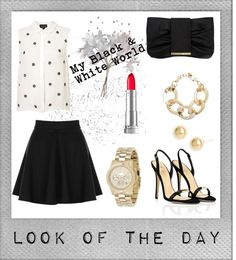 """Look Of The Day #05"" by jyoti-shridhar on Polyvore"