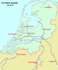 Description The Dutch Republic in 1672 Dutch Republic, The Republic, Anglo Dutch Wars, Holland Map, Armies, Cologne, Maps, Third, Initials
