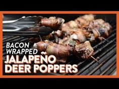 Bacon Wrapped Jalapeno Deer Poppers | Legendary Whitetails