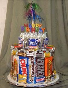 """Candy Cake...Nate's """"sweet"""" 16..."""
