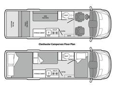 The Clanhauler Campervan is a converted long wheelbase Dodge Sprinter. This diesel beauty is equipped with three beds that will sleep two adults and up to three children, or is the perfect rig for three friends (as long as you are not overly tall!) The Clanhauler is furnished with a marine toilet and shower, two burner stove, 3 cubic foot refrigerator and kitchen sink. It has the capacity for five people, but we would suggest that the some of the five not be full sized!