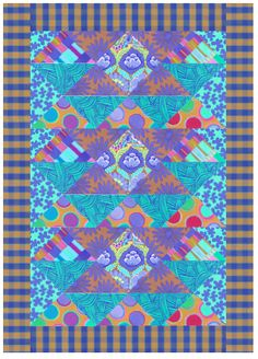 0b65ec2bcd8051 Free pattern day! Kaffe Fassett Quilting and Sewing