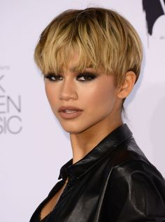 10 Ways to Rock Short Hair Like a Celebrity - Zendaya  from InStyle.com