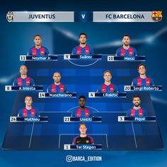 FC Barcelona XI vs Juventus. FORCA BARCA! #FCBlive #UCL #JuveFCB #fashion #style #stylish #love #me #cute #photooftheday #nails #hair #beauty #beautiful #design #model #dress #shoes #heels #styles #outfit #purse #jewelry #shopping #glam #cheerfriends #bestfriends #cheer #friends #indianapolis #cheerleader #allstarcheer #cheercomp  #sale #shop #onlineshopping #dance #cheers #cheerislife #beautyproducts #hairgoals #pink #hotpink #sparkle #heart #hairspray #hairstyles #beautifulpeople #socute…