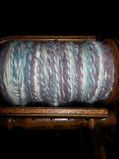 Alpace mix hand dyed