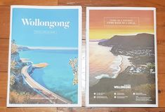Chilby Photography has the back cover on the Wollongong visitor guide. Mine is the one to the right.   See more landscapes of the Illawarra and surrounds @ www.chilby.com.au