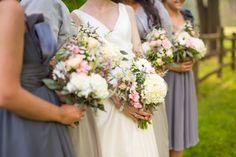 Rustic Vintage Wedding Flowers