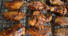 Will you be serving up chicken wings on Super Bowl Sunday? Then check out this winning Honey BBQ Baked Chicken Wings Recipe! Honey Bbq Chicken Wings, Cooking Chicken Wings, Baked Chicken Wings, Chicken Wing Recipes, Chicken Satay, Roast Chicken, Chicken Wing Seasoning, Man Food, Cooking Recipes