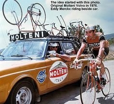Merckx & the Molteni Volvo