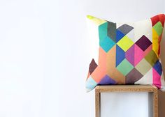 Colorful Covers:  15 Bright and Bold Pillow Options from Etsy   Roundup